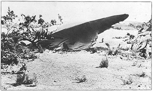 ufo terjatuh diroswell, meksiko pada tahun 1947