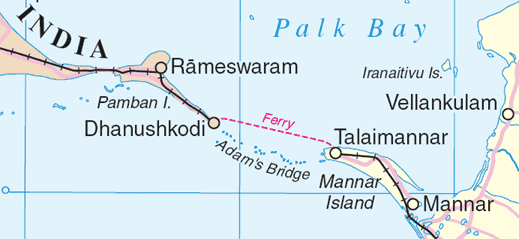 historical map of adam's bridge and environs, prior to the cyclone of 1964.png