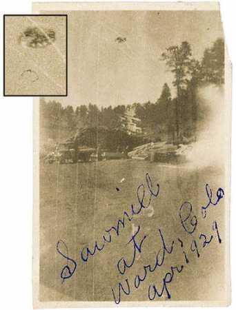 ufo colorado 1929